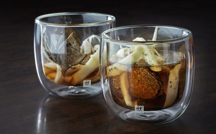 Consomme van champignons